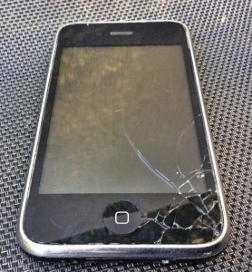 old iphone 2screen